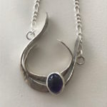 Sterling Silver necklace with Amethyst